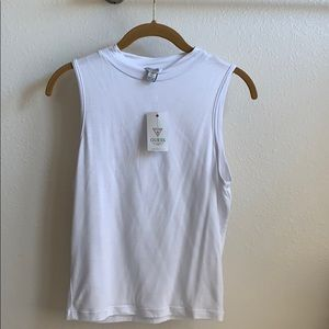 Guess mock neck top